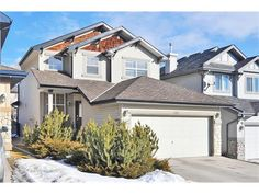 Map location: 103 SPRING VILLAGE Lane SW in Calgary: Springbank Hill House for sale : MLS(r) # C4048352 House On A Hill, Calgary, Map, Spring, Outdoor, Home, Outdoors, Ad Home, Homes