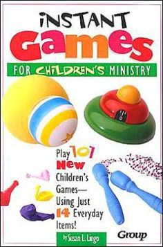 Instant Children's Ministry Games Review (by Group Publishing) | Growing Kids Ministry