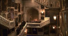 Hogwarts. The Grand Staircase