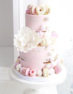 Featured Cake: Sweet Philosophy; Wedding cake idea.