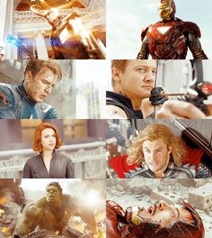 Avengers Movie Photoset