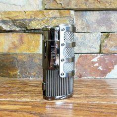 Personalized Gunmetal Cigar Lighter Groomsman Gift #groomsmangifts