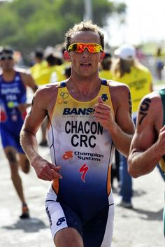I began triathlon when I was 11 years old, because I saw my father doing the most important triathlon in Costa Rica. My family have had the biggest influence on my sporting career. I currently train in Cartago, and in an average training week I swim six hours, bike nine, and run five. My personal best swim time  is 17:53, bike  55 min, run  31:10. I am currently coaching the Liberian triathlon team: 35 kids and 10 adults.