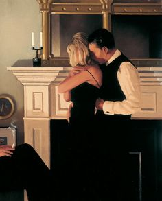 Jack Vettriano's style is unique and unmistakable.