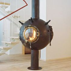 If you're a Jules Verne fan check out the cool furniture made out of mines
