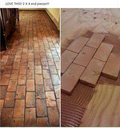 2 x 4 flooring