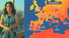 Good Morning Britain, Weather Forecast, Budapest, Warm, Check, Weather Predictions