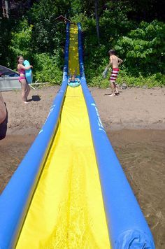 Slide water toy / inflatable Turbo Chute series RAVE Sports