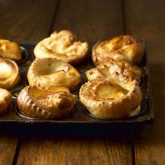 How to make the best Yorkshire puddings – easy recipe for the perfect batter - Mirror Online Traditional Yorkshire Pudding Recipe, Easy Yorkshire Pudding Recipe, How To Make Yorkshire Pudding, Chef Recipes, Greek Recipes, Cooking Recipes, Yummy Recipes, Vegetarian Recipes, Greek Lamb Dishes