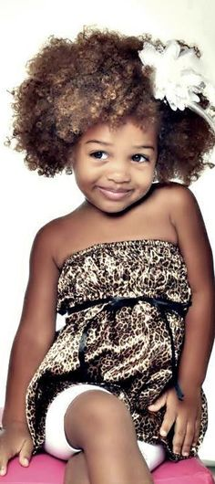 Oh please...may I have her?! SO adorable