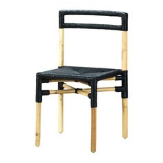 IKEA - VIKTIGT, Cadeira, Cada peça é única pois é feita à mão.Os móveis fabricados com fibras naturais são leves, mas também resistentes e duradouros.Cadeira empilhável para poupar espaço quando não está a ser usada.
