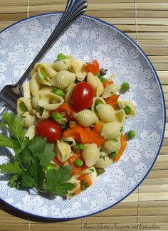 Aglio Olio e Limone Pasta Salad