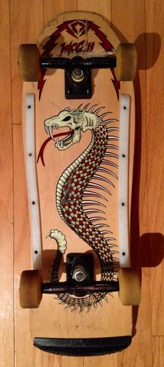 Vintage Powell Peralta Mike McGill Stinger Skateboard with Gullwings and Bones | eBay