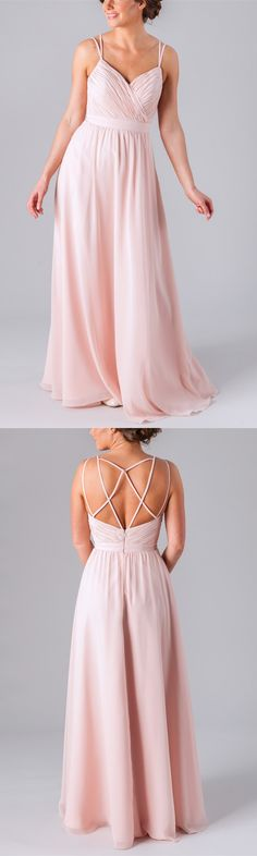 Unique Blush Pink Sweetheart Full Length Pleated A-Line Chiffon Bridesmaid Dress - See more at: http://www.belinabridesmaid.com/unique-blush-pink-sweetheart-full-length-pleated-a-line-chiffon-bridesmaid-dress-blb20063