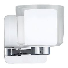Alexus Bath Wall Sconce by Norwell Lighting at Lumens.com - $118, takes 60W