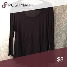 Long sleeve top Rounded bottom very soft long sleeve top Tops Tees - Long Sleeve