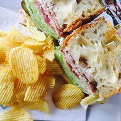 Κορθιανό Sandwich με Λoύζα