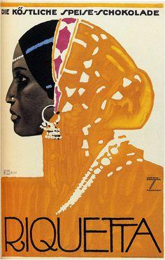 Vintage Advertising Poster by Ludwig Hohlwein Vintage Advertisements, Vintage Ads, Vintage Posters, Vintage Labels, Vintage Ephemera, Vintage Travel, Illustration Art Nouveau, Magazine Illustration, Vintage Magazine