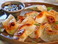 Pot Sticker Dumplings and Soy-Vinegar Sauce, Recipe from Mad Hungry, November 2010