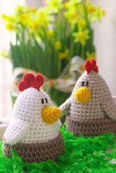 Patrón gratis amigurumi de gallinas                                                                                                                                                                                 Más