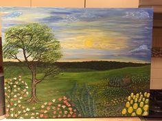 Landscape Golf Courses, Paintings, Landscape, Art, Art Background, Scenery, Paint, Painting Art, Kunst