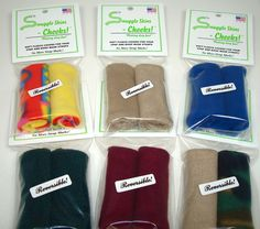 Snuggle Skins Cheeks! - CPAP Straps Covers - No More Strap Marks!