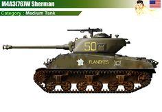 M4A3(76)W Sherman