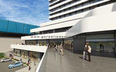 Avrupa Termal Oteli Projesi, Görselleştirme Çalışması.  Proje Müellifi: Zambak Mimarlık