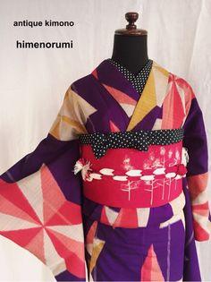 antique kimono himenorumi