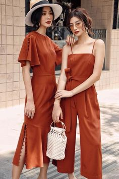 How to Style Linen Clothing Nowadays Casual Dresses, Casual Outfits, Fashion Dresses, Cute Outfits, Mode Ootd, Inspiration Mode, Look Chic, Korean Fashion, Summer Outfits