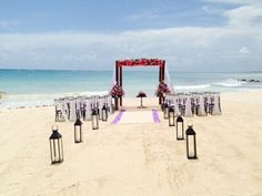 Contact Vacations For Less, Inc. to book your Perfect Beach Wedding! http://www.vfldestinationweddings.com/