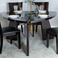 Triangledinning Tables Emory 5 Piece Triangular Counter