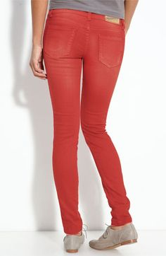 I bought these. I'm probably too old but you can wear colored jeans to school/work.