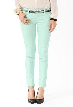 Ankle Length Denim Skinny Jeans | FOREVER21 - 2019572717