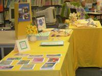 Amity Daffodil Art Show during the Amity Daffodil Festival.