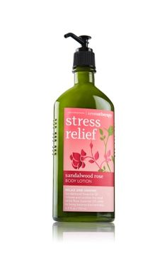 Sandalwood Rose - Body Lotion - Aromatherapy - Bath & Body Works - Ultra-creamy, nourishing body lotion is formulated to give skin long-lasting moisture while an aromatherapy blend of natural ingredients and essential oils benefits body, mind & mood. Breathe deeply for best results