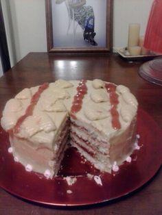 Peanut Butter -n- Jelly Cake