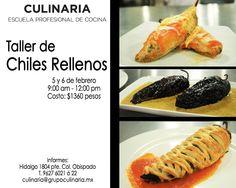 Taller de Chiles Rellenos / 5 y 6 de Febrero / Culinaria (mty)