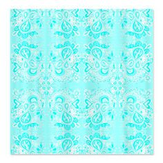 Crazy Paisley Tiffany Blue Shower Curtain by Jolie Frank CafePress has the  best selection of custom