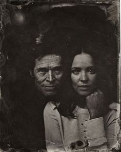 Willem Dafoe and Rachel McAdams -Sundance 2014 Old-Fashioned Portraits - Sundance 2014 Victoria Will Tintypes - Esquire Rachel Mcadams, Park City, Vintage Photography, Portrait Photography, Woods Photography, Wedding Photography, Photography Tips, Street Photography, Landscape Photography