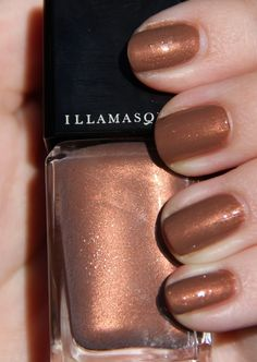 Illamasqua Naked Strangers Collection Nail Varnish in Faithful. Click through for all the swatches!