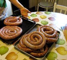 Carnati de Casa Romanian Food, Charcuterie, Meatloaf, Waffles, Main Dishes, Sausage, Steak, Bbq, Homemade