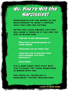 "Click to read, ""How Narcissists Play Mind Games to Make You Think There's Something Wrong With You"" #narcissisticabuse #narcissist"