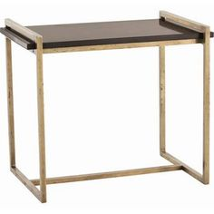 arteriors hollis side table - Google Search