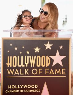 Pin for Later: Mariah Carey Is Adorably Upstaged by Her Twins During Her Walk of Fame Ceremony