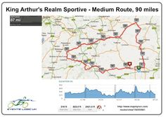 King Arthur's Realm Sportive 90 Miles, 2nd June 2013 | Events Logic UK | Be Part Of It!