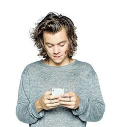 This is me 99% of times>>By that smile on his face, he is probably tweeting.