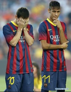 Fc Barcelona  Messi and Neymar