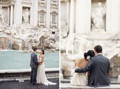 Eloping to the Eternal City ✈ A Destination Wedding in Rome