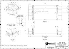 parts arrangement hydraulic car trailer